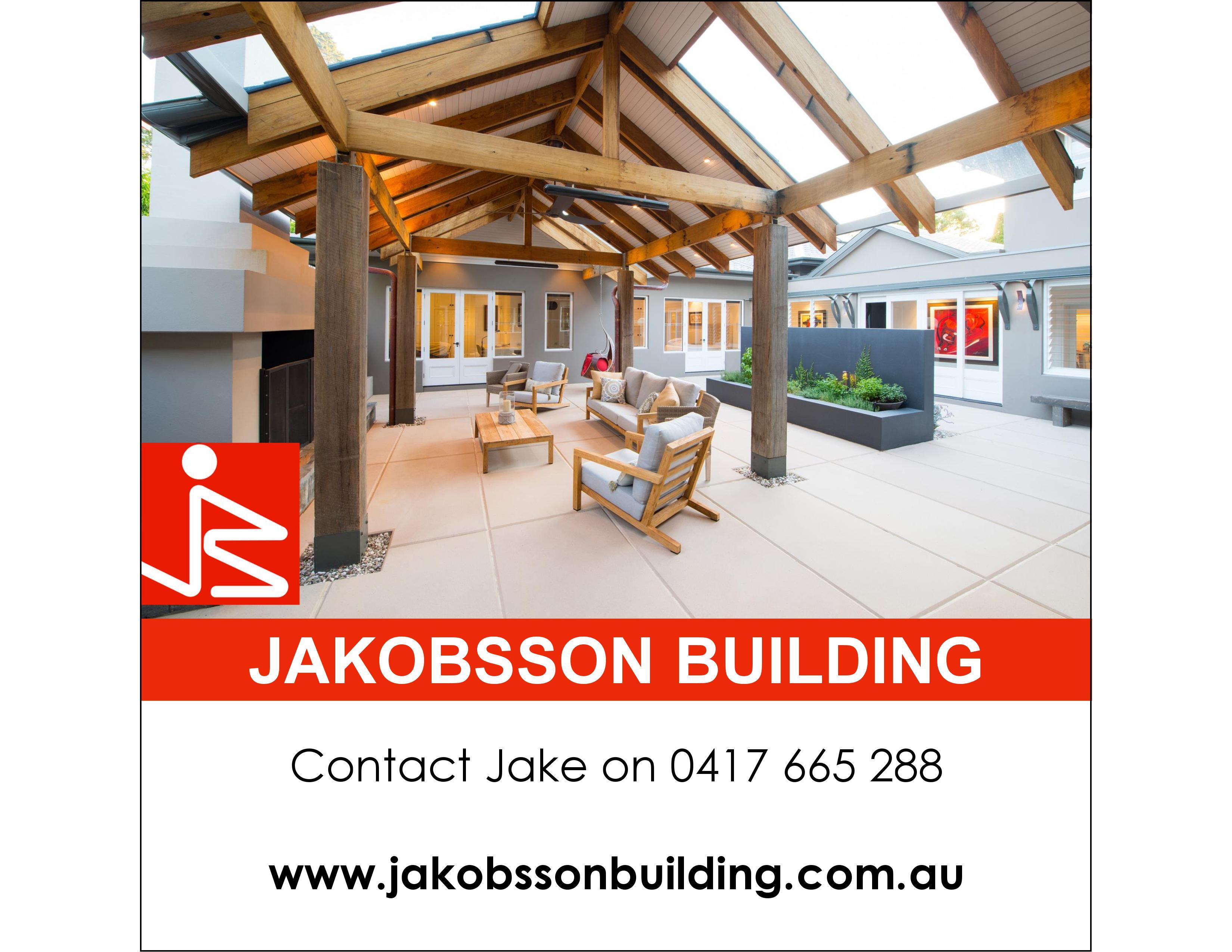 Jakobsson Building Logo